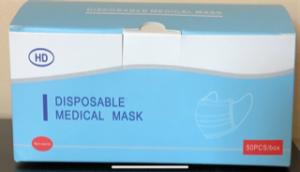 Box of Medical Surgical Masks