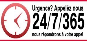 urgence 24 sur 24